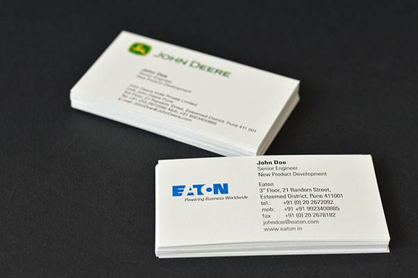 Visiting Business Card Printer And Printing Services In Pune