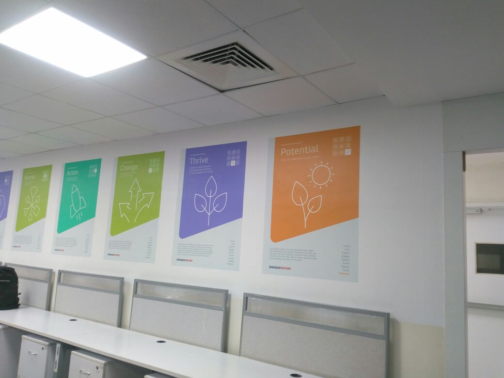 Latex Amp Eco Solvent Printing Of Customized Wallpapers In Pune