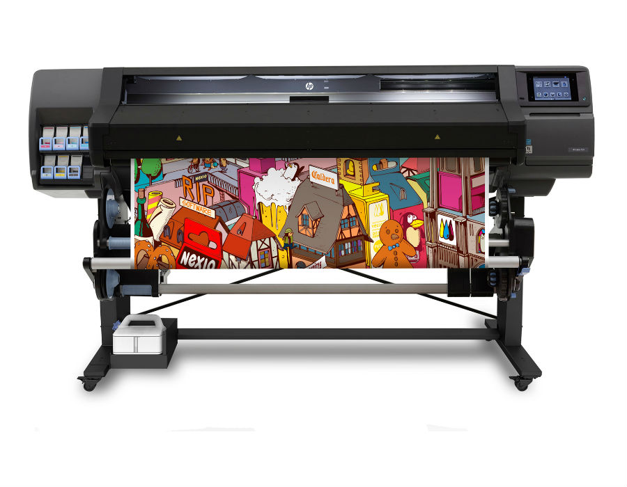 hp latex printing machine for wallpapers in pune