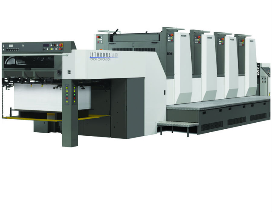 4 colour komori offset printing press in pune